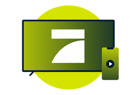 Stream ProSieben on TV and mobile devices.