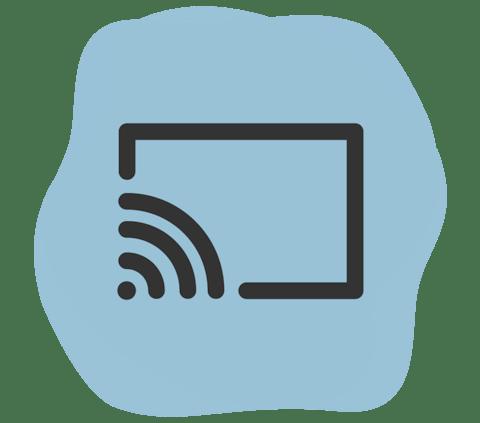 Chromecast logo.