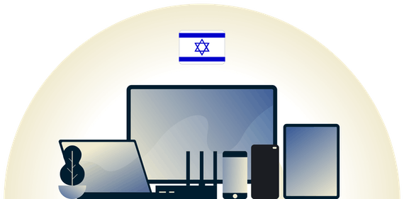 Israel VPN protecting a variety of devices.