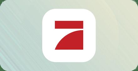Logo for German streaming service ProSieben.
