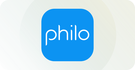 Philo TV logo.