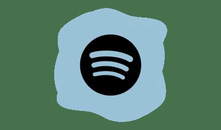 Spotify logo.