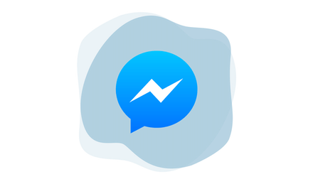 Лого Facebook Messenger.