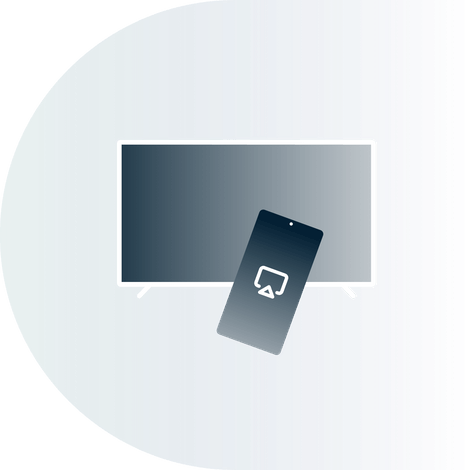 Casting from a mobile device to a TV with a VPN.
