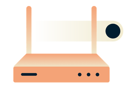 Always-connected router VPN.