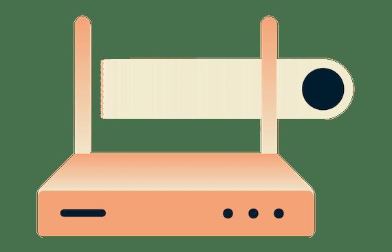 ご自宅のWi-Fiをもっとセキュアにするためにルーター対応VPNを使おう。