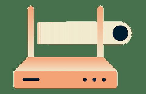 Använd ett VPN för routrar för säkrare wi-fi hemma.