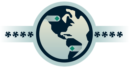 Logo DNS montrant que les requêtes DNS sont chiffrées