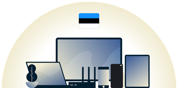 Estonia VPN protecting a variety of devices.