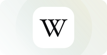 Wikipedia logosu.