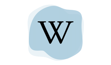 Wikipediaロゴ。
