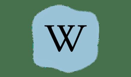 Wikipedia logo.
