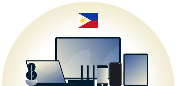 Philippines VPN protecting a variety of devices.