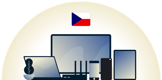 Czech Republic VPN protecting a variety of devices.