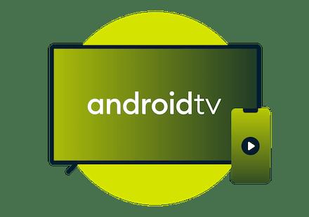Urządzenia Android TV.