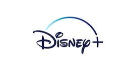 Disney+ロゴ。