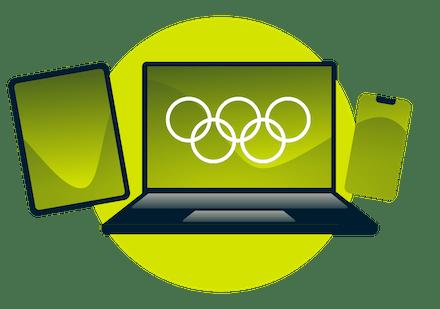 どのデバイスでもVPNを使って、オリンピックをストリーム