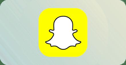 Snapchatロゴ。