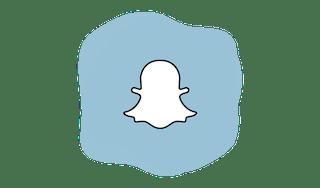 Snapchat logo.