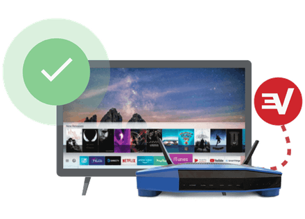 Conecte su smart TV a un router compatible con VPN