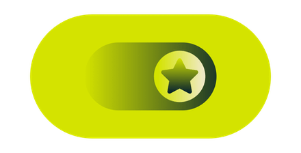 Toggle with star on it.