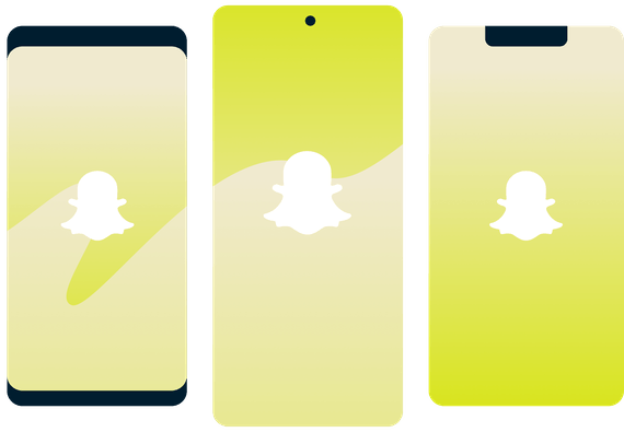 Snapchat filters smartphones