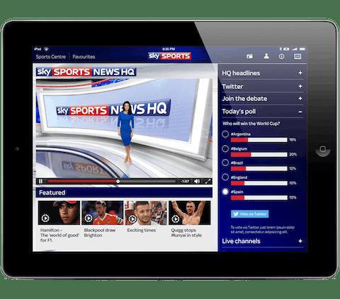 Katso Sky Go Sportsia VPN:n avulla.