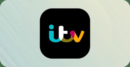 ITV logo.