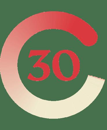 Garantía de devolución de dinero a 30 días.