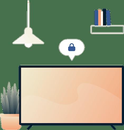 Sicheres Smart TV. Holen Sie sich ein VPN für Ihr Smart-TV.