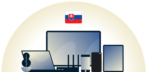 Slovakia VPN protecting a variety of devices.