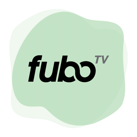 Logo di fuboTV in un cerchio