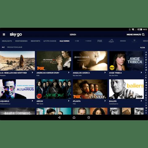 Oglądaj Sky Go z VPN.