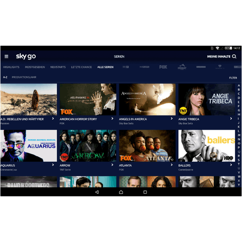 Vea Sky Go con una VPN.