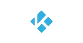 Kodi logo.