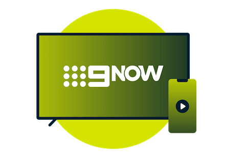 9Now on TV and mobile devices.