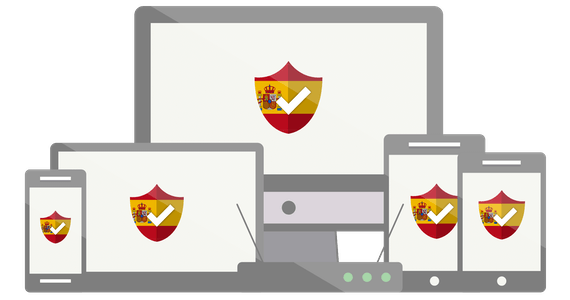 Your VPN for Spain.