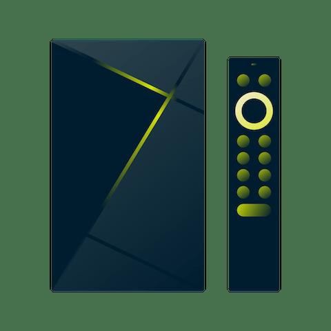 Nvidia Shield TV Pro.