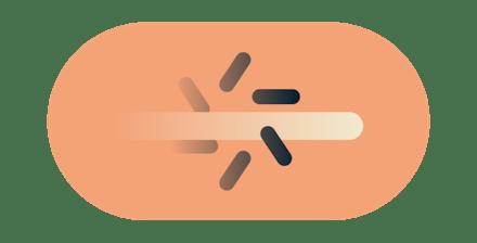 stoppe internettleverandørers struping, lilla bakgrunn, datamaskin tilkoblet internettleverandør