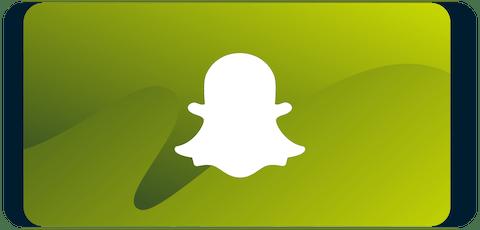 Snapchat logo on smartphone