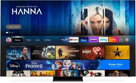 TV with fire tv UI