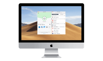 Preview: Screenshots Mac ExpressVPN-Imac