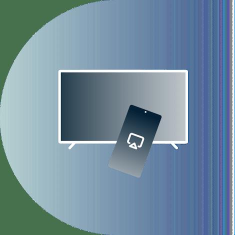 Télécommande avec une TV
