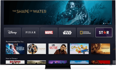 Star movies and shows on Disney+.