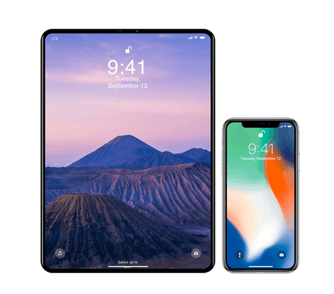 iPhone 11 and iPad Pro