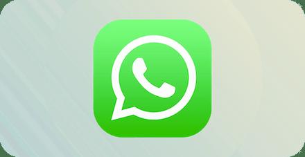 WhatsAppロゴ。