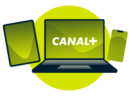 watch Canal Plus with a VPN on laptop or mobile devices