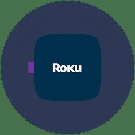 Un dispositivo Roku