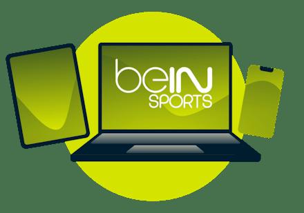 Se beIN Sports på PC, nettbrett eller smarttelefon.