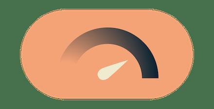 Velocímetro da Internet: obtenha velocidades incrivelmente rápidas da Internet com a ExpressVPN.